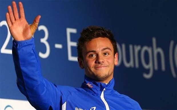 Screen test: Tom Daley took to YouTube to make the disclosure about his private life Photo: GETTY IMAGES